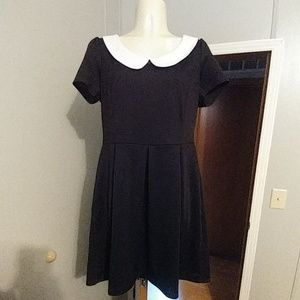 Basic Wednesday Addams dress